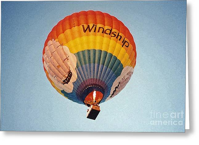 Air Balloon Greeting Card