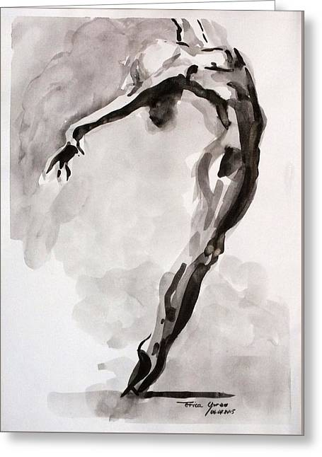 Air Greeting Card by Erica Oprea