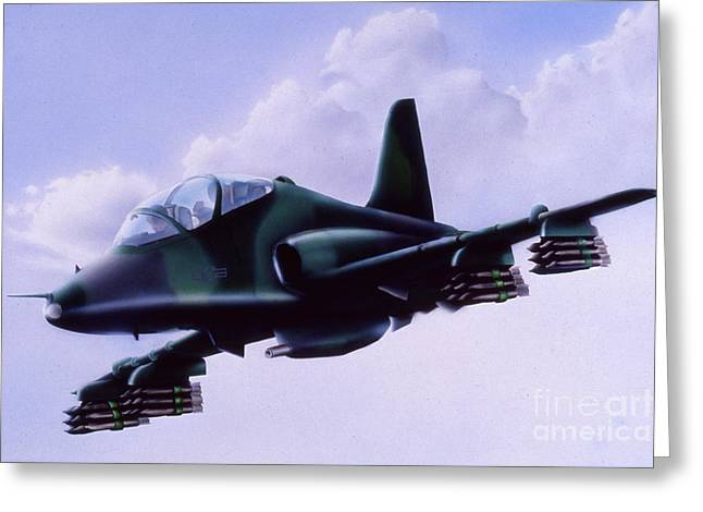 Air Force Trainer Greeting Card