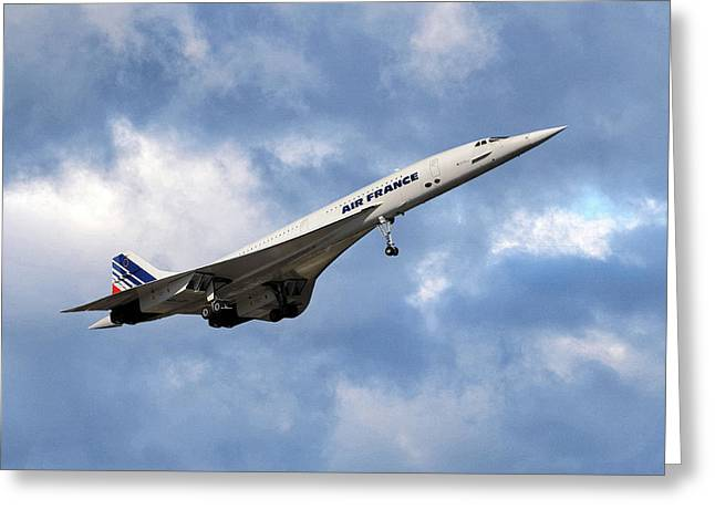 Air France Concorde 118 Greeting Card