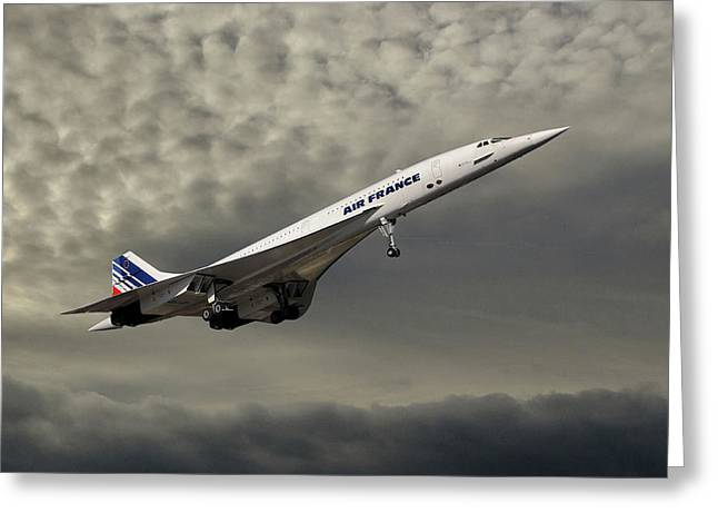 Air France Concorde 116 Greeting Card