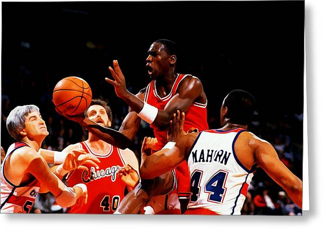 Air Jordan 1984 Rookie Year Greeting Card
