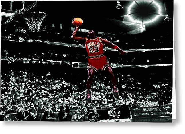 Air Jordan 4e Greeting Card by Brian Reaves