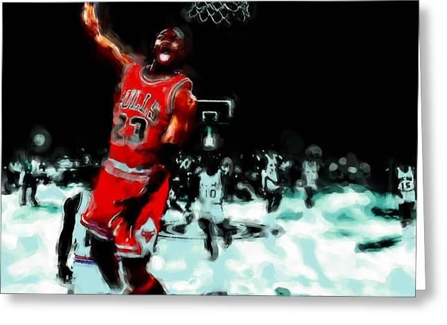 Air Jordan Break Away Greeting Card
