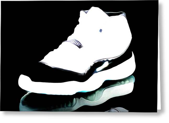 Air Jordans S3 Greeting Card by Brian Reaves