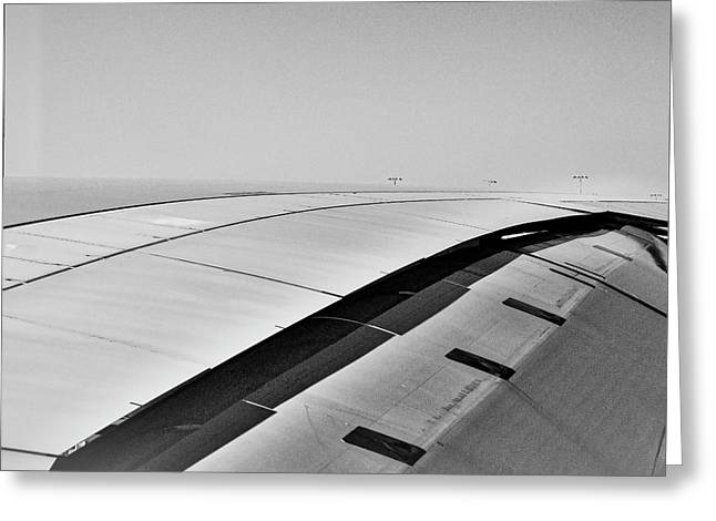 Airbus A380 Wing - Abstract  Greeting Card