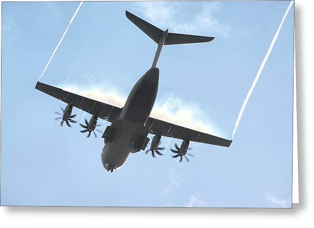 Airbus A400m Greeting Card
