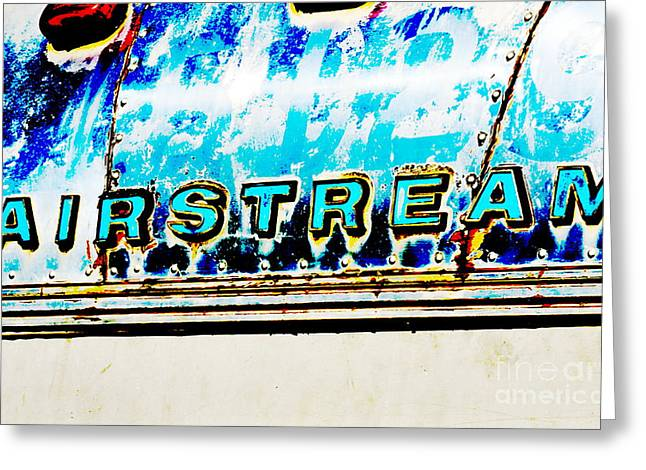 Airstream Greeting Card by Newel Hunter