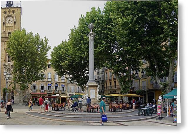 Aix En Provence Greeting Card by Gary Lobdell