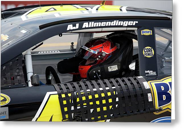 Aj Almendinger #47 Greeting Card