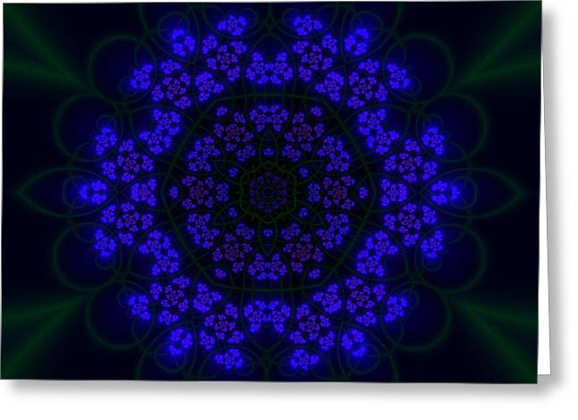 Akabala Lightmandala Greeting Card by Robert Thalmeier