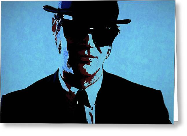 Akroyd Blues Brothers Greeting Card