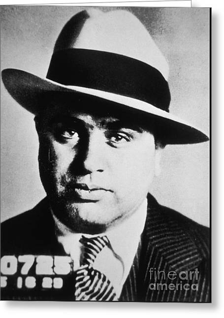 Al Capone Greeting Card