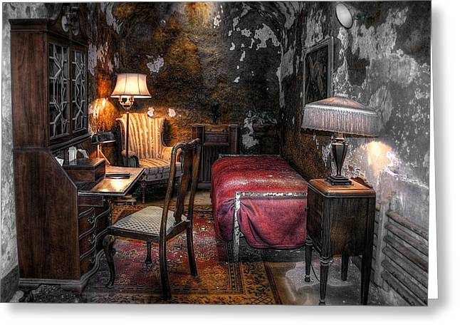 Al Capone Cell Greeting Card by Svetlana Sewell