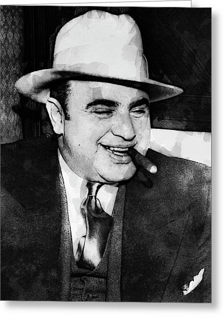 Al Capone Prohibition Boss Of Chicago Greeting Card