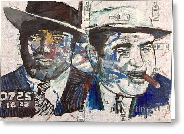 Al Capone  Greeting Card by Rooster Art