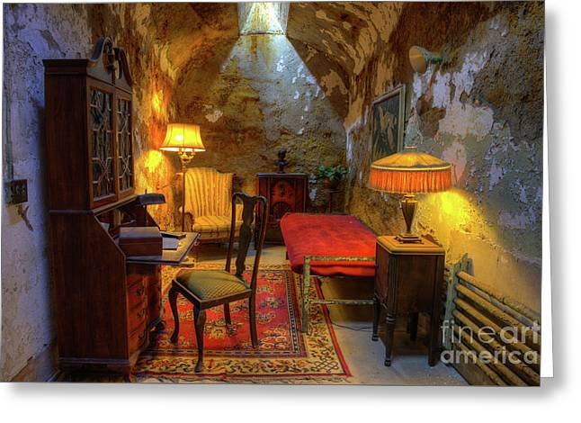 Al Capones Jail Cell Greeting Card