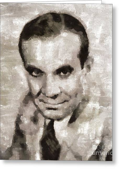 Al Jolson, Entertainer Greeting Card