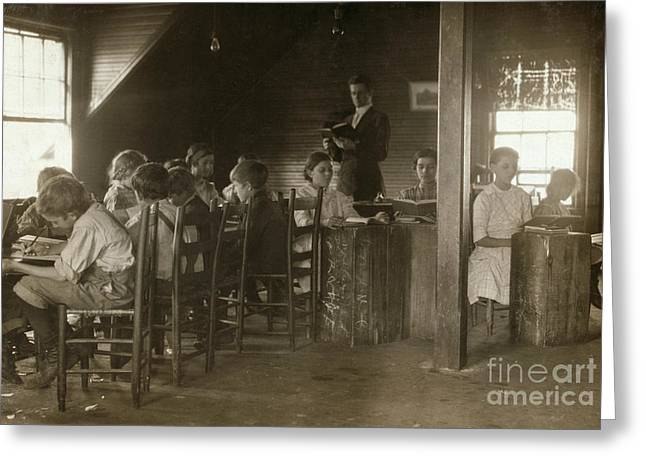 Huntsville Greeting Cards - Alabama: Classroom, 1913 Greeting Card by Granger