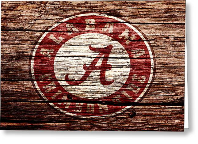 Alabama Crimson Tide 1a Greeting Card by Brian Reaves