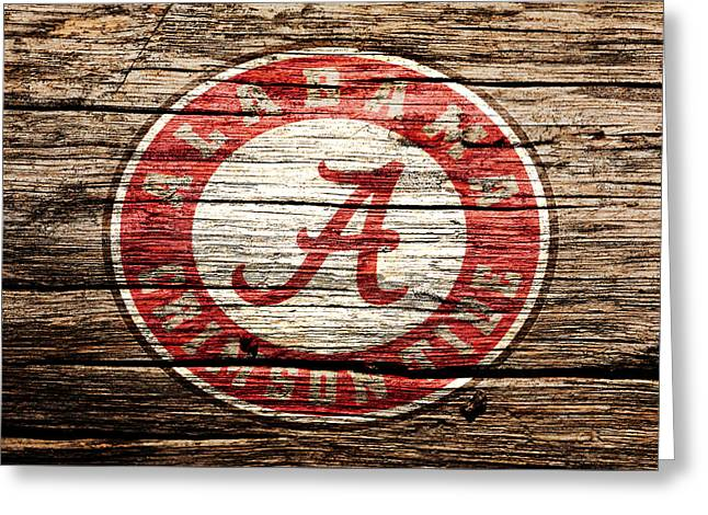 Alabama Crimson Tide Greeting Card by Brian Reaves