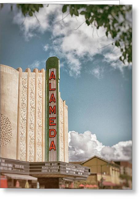 Alameda Theater California Greeting Card by Mary Lee Dereske