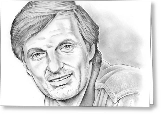 Alan Alda Greeting Card