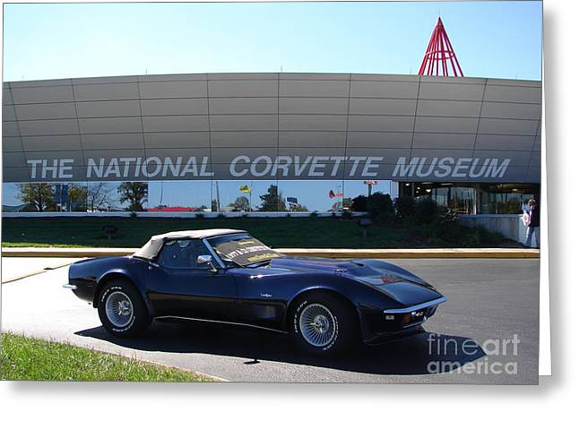 Alans 1968 Corvette Greeting Card