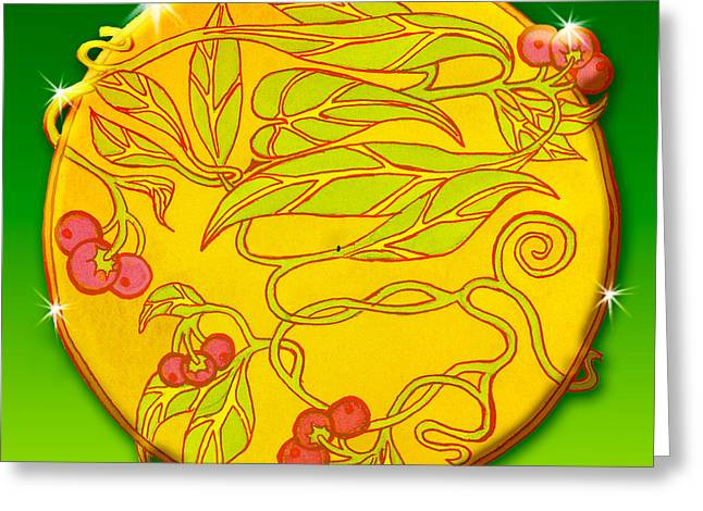 Alaska Berry Fairy Universal Insignia Greeting Card by Teresa Ascone