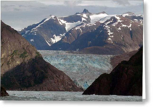 Alaska Blue Greeting Card by Armand Hebert