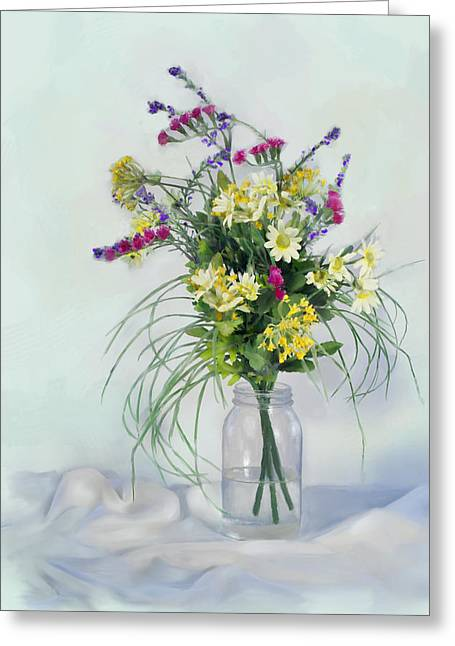 Alaska Flowers Greeting Card