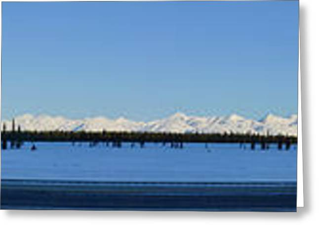 Alaska Highway Panorama Greeting Card