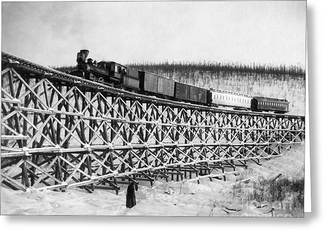 Alaska: Railroad, 1916 Greeting Card by Granger