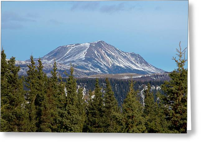 Alaska Range Greeting Card