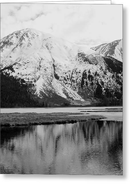 Alaska Reflection Greeting Card by Ty Nichols