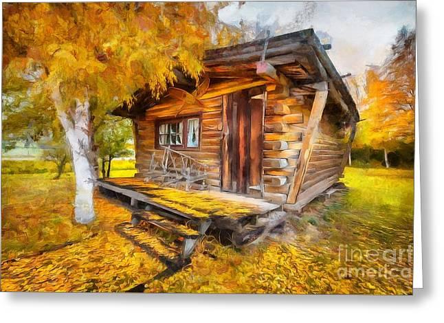Alaskan Autumn Greeting Card