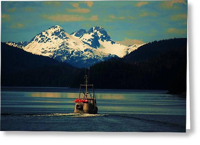 Alaskan Cruise Greeting Card