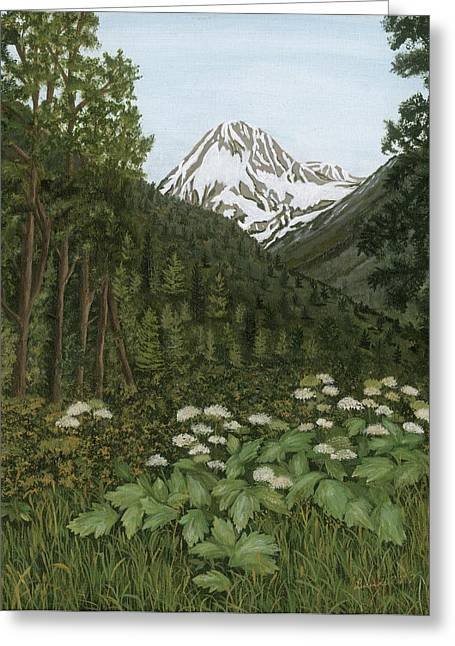 Alaskan Mountains Greeting Card