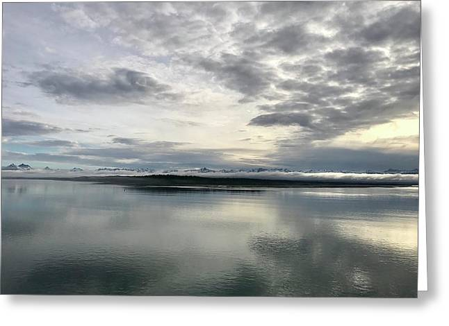 Alaskan Sunrise Greeting Card