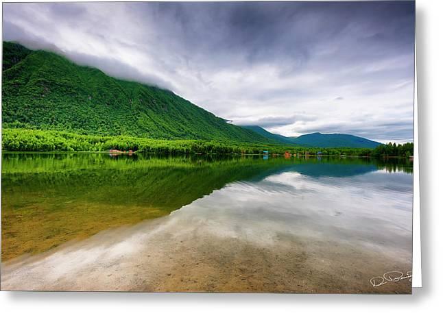 Alaska's Mirror Lake Greeting Card