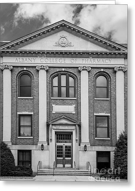 Albany College Of Pharmacy O' Brien Building Greeting Card by University Icons
