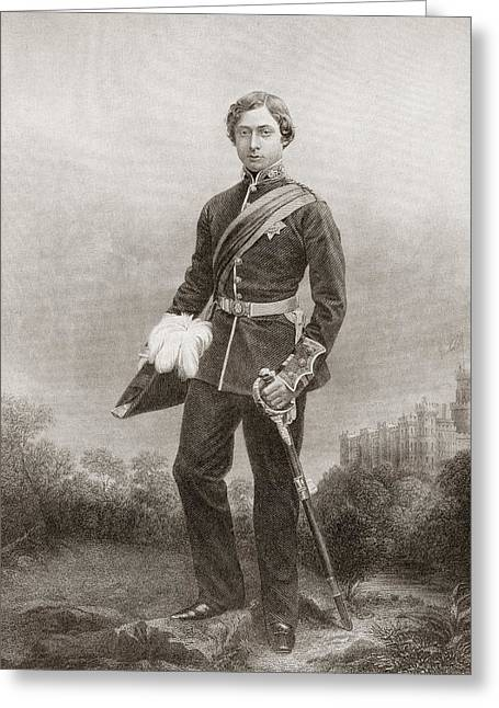 Albert Edward, Prince Of Wales, 1841 Greeting Card by Vintage Design Pics