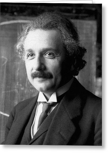 Albert Einstein Nel 1921 Greeting Card