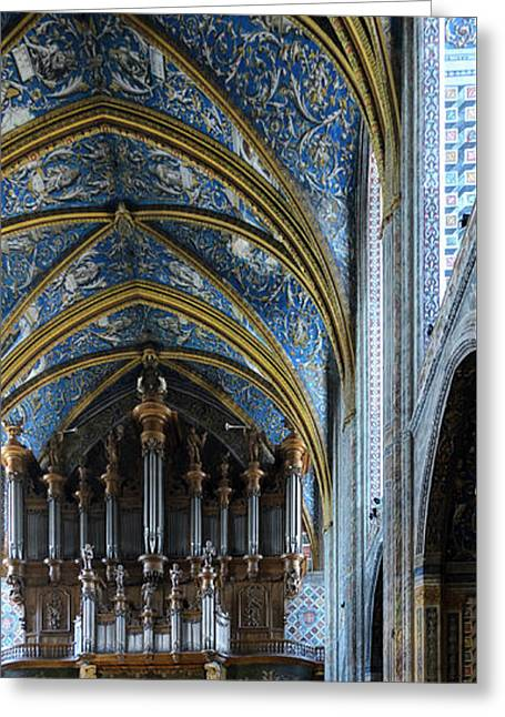 Albi Cathedral Nave Greeting Card