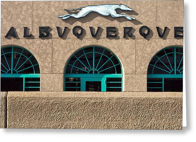 Albuquerque Hound Greeting Card