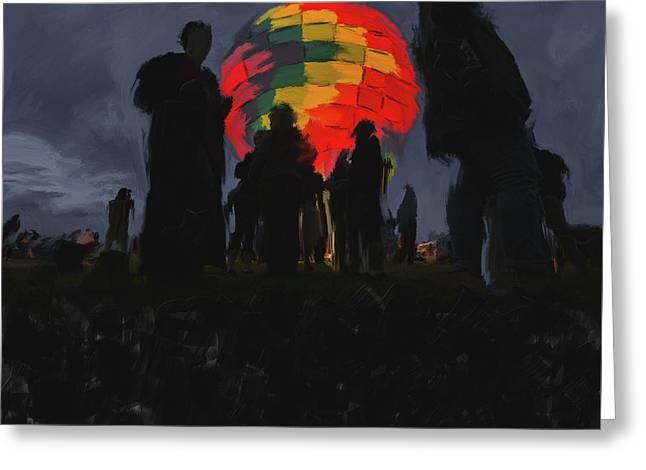 Albuquerque International Balloon Fiesta 251 2 Greeting Card by Mawra Tahreem