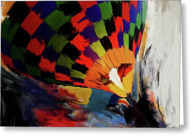 Albuquerque International Balloon Fiesta 254 1 Greeting Card by Mawra Tahreem