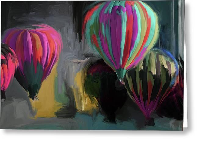 Albuquerque International Balloon Fiesta 5 257 1 Greeting Card by Mawra Tahreem