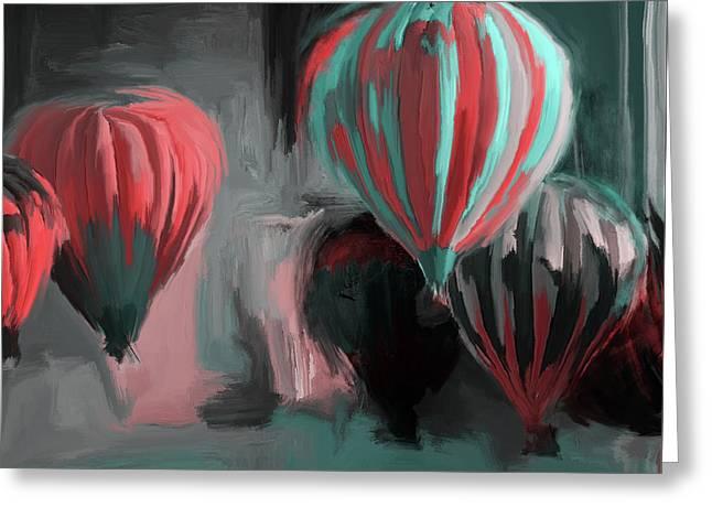 Albuquerque International Balloon Fiesta 5 257 3 Greeting Card by Mawra Tahreem