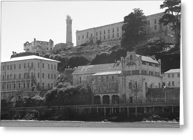 Alcatraz Island Greeting Card by Bobby Miranda